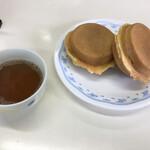 おやきの平中 - おやきとお茶