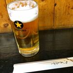 マツヤ木曽 - 生ビール \38o