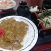 松月庵 - 料理写真:カレーセット990円