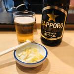 天すけ - 瓶ビール(700円)