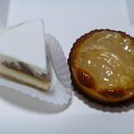 レティシア - 塩チーズケーキと洋梨のタルト
