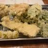 天ぷらさかな へい吉 - 料理写真:野菜天盛り