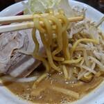 らーめん蓮 - 濃厚味噌らーめん(野菜増し)