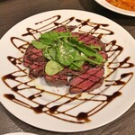洋麺バルPastaBA - 牛ハラミ肉のタリアータ