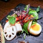 チッチャ - ☆地野菜たっぷりバーニャカウダ 1480円