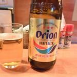 日の丸や - オリオンドラフトビール中瓶