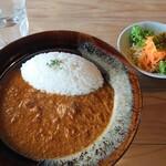 Cafe かいめんこや - 料理写真:カレーセット