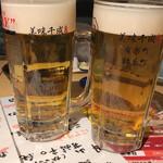 美味千成 - 生ビール