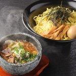 節系とんこつらぁ麺 おもと - エビとん味玉つけ麺 900円