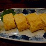 新橋辻そば - ○だし巻き卵(卵2個使用)¥550円