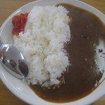 お食事処 どん丼 - 料理写真:カレー500円