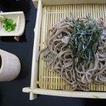 お食事処 どん丼 - ざるそば500円