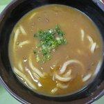 お食事処 どん丼 - カレーうどん(11~4月)600円