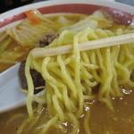 12340088 - みそラーメン(650円)氷点麺