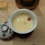 日本橋蛎殻町 すぎた - 穴子茶わん蒸し