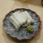 日本橋蛎殻町 すぎた - 穴子白焼き