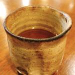 蕎麦がき屋 - 蕎麦茶