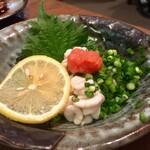 もつ焼き 稲垣 - 白子ポン酢 600円