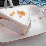 三瀬バーガー - チーズケーキ