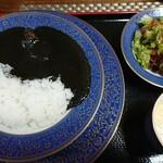 シチューの王様 ビストロ ガレ - 料理写真:イカスミカレー