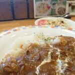 珈琲工房 あらびか - ビーフリヨネーズ ¥870*ブレンドコーヒー付き(フレンチ)