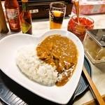 丼屋ひろ - ラブチキンカレー 500円
