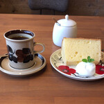 カフェ ルーマ - 料理写真:セットで650円でした。