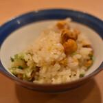 いふう - 雲丹の土鍋ご飯