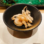 くるり - 料理写真:白海老の唐揚げ