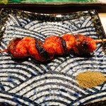くるり - 料理写真:鰻のくりから串