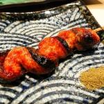 くるり - 料理写真:甘辛のたれが美味い