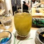 くるり - ドリンク写真:緑茶ハイ