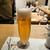 くるり - ドリンク写真:生ビール