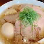 中華そばの店 多むら - 料理写真:味玉肉盛り塩中華そば(大)