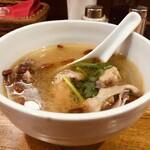 台湾料理 光春 - 鶏スープ
