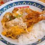 かつさと - 料理写真:ジャンボ海老かつ丼