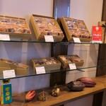 オリジンヌ・カカオ - 焼菓子棚