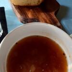 レストラン アイコ ジョヴァンニ - ガーリックトースト&スープ