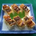 さぬき路 - 料理写真:さぬき路名物 箱穴子   630円