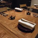 デュ バリー - テーブルセッティング