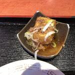 東天紅 - 小鉢(揚げ出し豆腐)