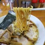 太尊 - 「チャーシューメン」麺アップ