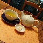 ロクシタンカフェ - マスカットグリーンティー¥880