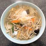 丸福 - タン麺
