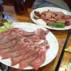 炭火肉料理 天狗風 - 料理写真:通常メニューのお肉はこんな感じ