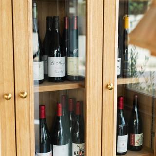 フランス産自然派ワイン白、赤、泡、オレンジ、ロゼ常時200本