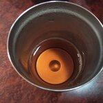 プルジャ ダイニング - シナモンというよりニッキ風味のお茶