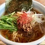 拉麺 大湯縁ヶ輪軒 - 料理写真:かづの牛だしスゥプ麵 800円
