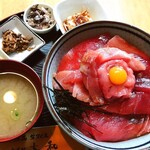 123463179 - 特製大和丼は、1800円❣️もう、美味しすぎる❤️