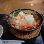 美肌・岩盤浴 はくわ - 料理写真:野菜鍋